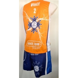 your official Beach volley club of Toulouse sleeveless jersey