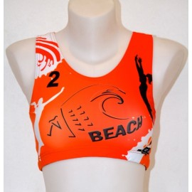 "Beachteam sports bra ""Aquitaine"""