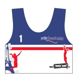 "Beachteam sports bra ""Paris Beach Volley"""
