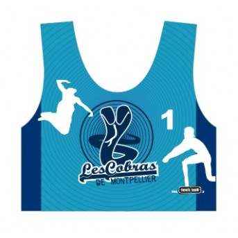 Your official Beach Volley club of Montpellier sports bra