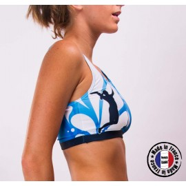 "Beachteam sports bra ""Azul"""