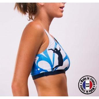 "Beachteam sports bra ""Azul"""