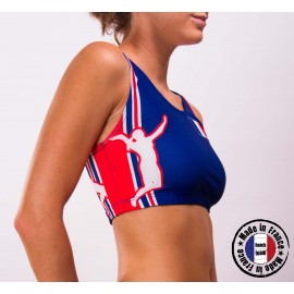 "Your official sports bra ""BEACHTEAM FRANCE"""