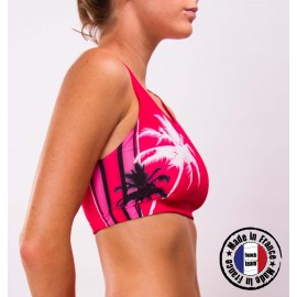 "Beachteam sports bra ""Pink light"""