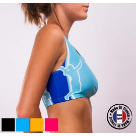 "Your Beach Team sports bra ""Oh les mains !"""