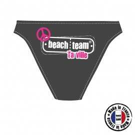 Culotte BeachTeam ByQuentin Rose et Turquoise