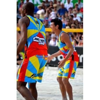 The official Beach Team short of Reunion Island