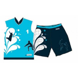 Tenue Indoor Beach Team AZUL Masc.
