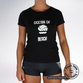 """T-SHIRT BeachTeam """"Ocean of Beach"""""""