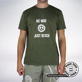 """T-SHIRT Beach Team """"No War Just Beach"""""""